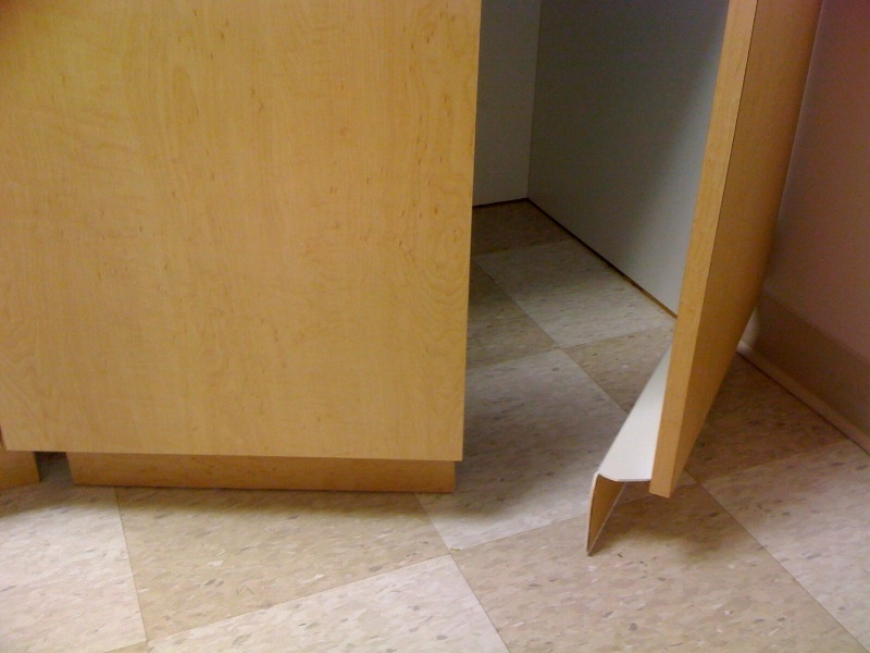 kitchen cabinets without toe kick toe kick 21457